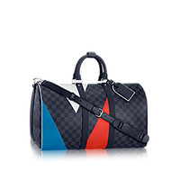 Products by Louis Vuitton: Keepall Bandoulière 55 Regatta