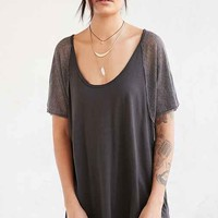 Project Social T Claire Tunic Top