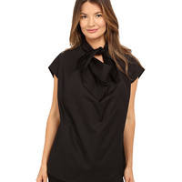 Vivienne Westwood Short Sleeve Garret Blouse Black - Zappos.com Free Shipping BOTH Ways