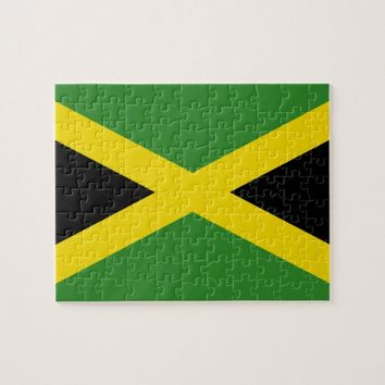 Puzzle with Flag of Jamaica