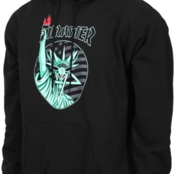 Thrasher Liberty Goat Hoodie - black - Free Shipping