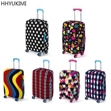 HHYUKIMI Brand Suitcase Protective Cover Elastic Suitcase Dust Covers Box Sets Travel Accessories Apply To 18 To 30 Inch Cases