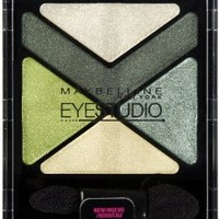 Maybelline New York Eye Studio Color Explosion Luminizing Eyeshadow, Forest Fury 15, 0.09 Ounce