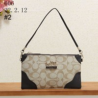 COACH 2018 new crossbody shoulder bag handbag clutch bag mahjong bag #2