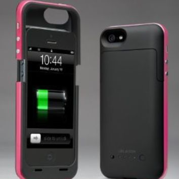 Amazon.com: i-Blason PowerPack iPhone 5 Rechargeable External Battery Glider Full Protection Case with Micro 5 Pin USB Charging Port - AT&T, Sprint, Verizon (Pink): Electronics