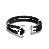Anchor III Black & Silver