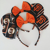 San Francisco Giants inspired mickey ears
