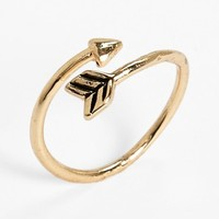 South Sun Arrow Wrap Midi Ring (Juniors) | Nordstrom
