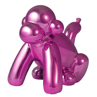 Made by Humans Monkey Balloon Bank - Pink