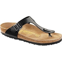 Women's Gizeh Sandal in Licorice by Birkenstock