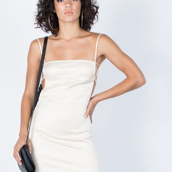 The Satin Party Dress