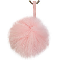 LUX FUR BALL KEYCHAIN