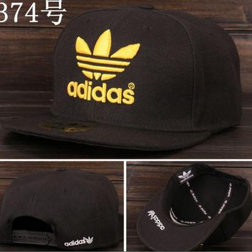 Adidas Performance Max Side Hit Baseball Cap Golf Hat Relaxed Fit Black golden logo