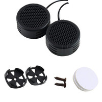 Factory Price Binmer Hot Selling High Quality 2 x 500 Watts Super Power Loud Dome Tweeter Speakers for Car 500W Free Shipping