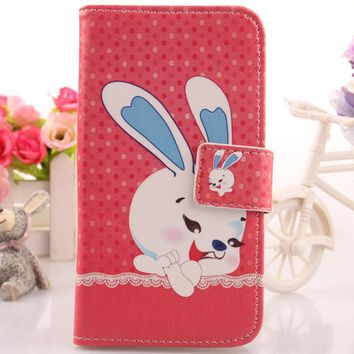 Exyuan Cartoon Case For Acer Liquid Z530 5 PU Leather Cover Mobile Phone Shell Hot Sale
