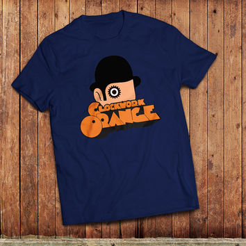 Clockwork Orange T-Shirt. Anthony Burgess classic book, film by Stanley Kubrick