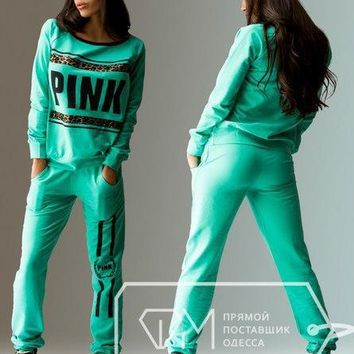 New Women Hoodies Tracksuit Sportswear Hoody Set Pants Joggings Sweatsuit Sports Suit Jogging Suits For Women