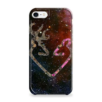 BROWNING STYLE HEART BUCK DOE DEER STICKER DECAL DUCK HUNTING iPhone 6 Plus | iPhone 6S Plus Case