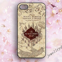 Harry Potter Marauders Map iPhone case,Harry Potter iPhone 5/5s/5c case,hogwarts iphone 4/4s case,Marauders Map fantasy galaxy s3 s4 s5 case