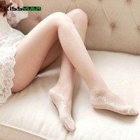 KISSyuer 2017 Sexy Women Tights Stockings Nylon Dot Kawaii Japanese Tights High Quality Lolita Girls Seamless Pantyhose KS062