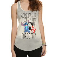 Disney Lilo & Stitch Nobody Gets Left Behind Girls Tank Top