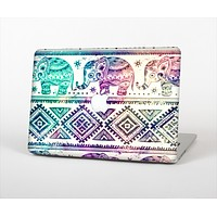 The Tie-Dyed Aztec Elephant Pattern Skin Set for the Apple MacBook Air 11""