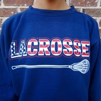 USA LAX Comfort Colors Fleece Crew - Sportabella