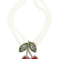 SHOUROUK | Cherry Necklace | Browns fashion & designer clothes & clothing