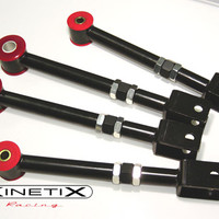 Camber/Traction Kinetix 350Z Adjustable camber A-arms / Traction Package -Rear for 03-08 Nissan 350z at Andy's Auto Sport
