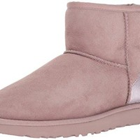 UGG Women's Classic Mini Ii Metallic Winter Boot