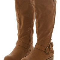 ModCloth Rustic Give It Your Best Trot Boot in Caramel