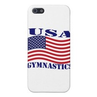 GYMNASTICS  USA CASES FOR iPhone 5
