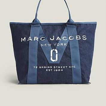 New Logo Denim Tote Bag - Marc Jacobs