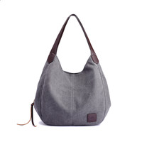Canvas Single Shoulder Tote - ngBay.com