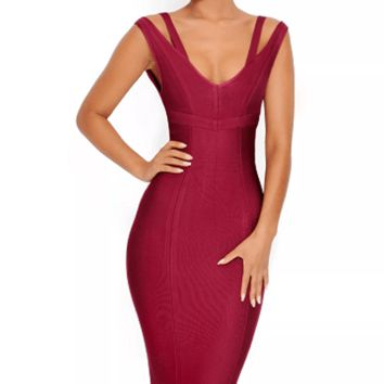 Two Timer Midi Bandage Dress