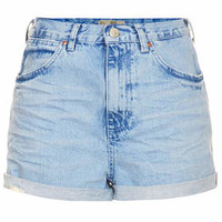 MOTO Blue Rosa Hotpants - Blue