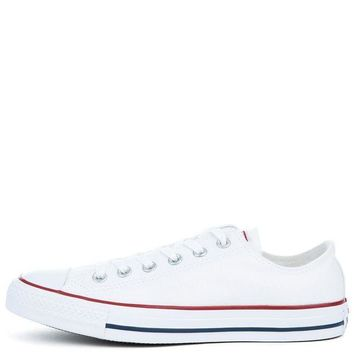 DCKL9 Converse Unisex: Chuck Taylor Lowtop Optical White Canvas