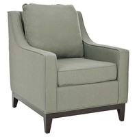 Henrietta Club Chair, Sage