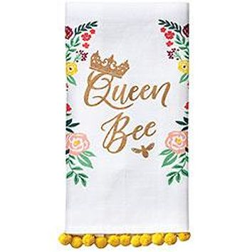 WASTE NOT PAPER QUEEN BEE TEA TOWEL