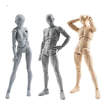 15cm Male Female Movable body chan joint Action Figure Toys artist Art painting Anime model SHF Mannequin bjd Art Sketch Draw