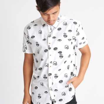 Morning Glory Men's Button-Up