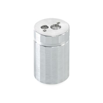 Solid Aluminum Double Sharpener