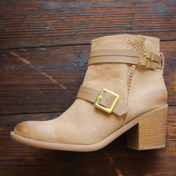 Durham Booties in Taupe
