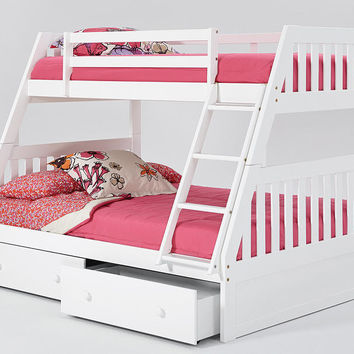 Hood River Secret Hideout Stairway Bed From Totally Kids Fun