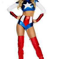 Pretty Patriot Costume