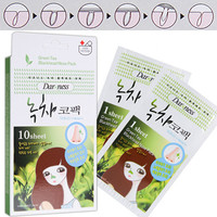 Darkness Green Tea Blackhead Nose Pack - Masks/Packs