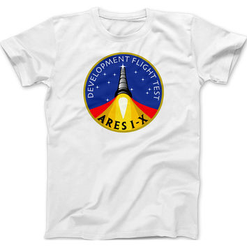 NASA Ares 1-X Mission Patch T-Shirt