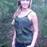 Lady Belle's Ladies Camisole - Faded Woodland