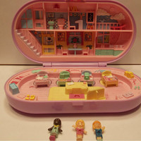 1992 Polly Pocket Stampin School Playset