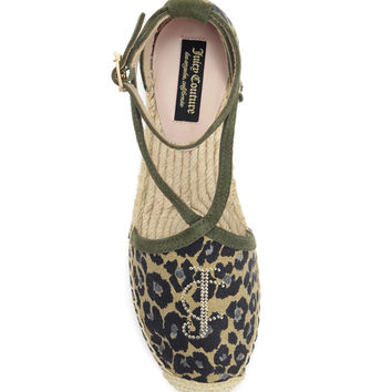 LAURALIE LACE-UP ESPADRILLE FLAT